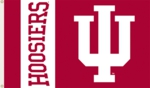 Indiana Hoosiers 3' x 5' Flag with Grommets