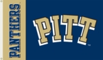 Pittsburgh Panthers 3' x 5' Flag with Grommets - Pitt