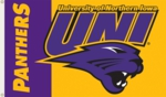 UNI - Northern Iowa Panthers 3' x 5' Flag with Grommets