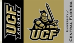 Central Florida Golden Knights 3' x 5' Flag with Grommets