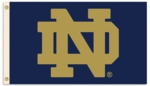 University of Notre Dame 3' x 5' Flag with Grommets