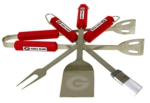 Georgia Bulldogs 4 Piece BBQ Set