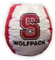 North Carolina State Wolfpack Bean Bag Chair