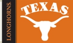 Texas Longhorns 2-Sided 3' x 5' Flag with Grommets