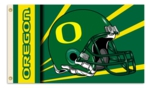 Oregon Ducks 2-Sided 3' x 5' Flag with Grommets