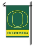 University of Oregon 2-Sided Garden Flag