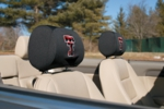 Texas Tech Red Raiders Headrest Covers - Set Of 2