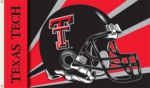 Texas Tech Red Raiders 3' x 5' Helmet Flag with Grommets