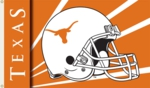 Texas Longhorns 3' x 5' Flag with Grommets - Helmet Design