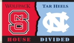 North Carolina - NC State 3' x 5' House Divided Flag w/Grommets