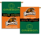 "Oregon - Oregon State 2-Sided 28"" X 40"" House Divided Banner"