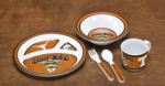 Texas Longhorns Kids' 5 Piece Dish Set