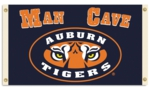 Auburn Tigers Man Cave 3' x 5' Flag with 4 Grommets