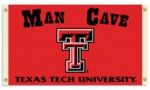 Texas Tech Red Raiders Man Cave 3' x 5' Flag with 4 Grommets