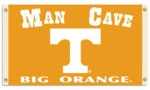 Tennessee Volunteers Man Cave 3' x 5' Flag with 4 Grommets