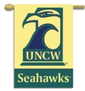 "UNC Wilmington Seahawks 2-Sided 28"" x 40"" Hanging Banner"