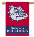 "Gonzaga Bulldogs 2-Sided 28"" x 40"" Banner with Pole Sleeve"