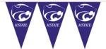 Kansas State Wildcats 25 Ft. Party Pennant Flags