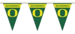 Oregon Ducks 25 Ft. Party Pennant Flags