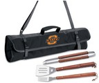 Oklahoma State University Cowboys 3 Piece BBQ Tool Set With Tote