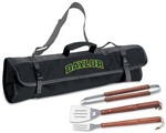 Baylor University Bears 3 Piece BBQ Tool Set With Tote