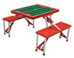 UNLV Rebels Football Picnic Table with Seats - Red