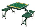 Baylor Bears Football Picnic Table with Seats - Hunter Green