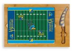 Delaware Blue Hens Football Icon Cheese Tray