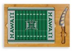 Hawaii Warriors Football Icon Cheese Tray