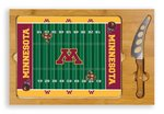 Minnesota Golden Gophers Football Icon Cheese Tray