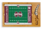 Mississippi State Bulldogs Football Icon Cheese Tray