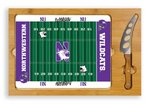 Northwestern Wildcats Football Icon Cheese Tray