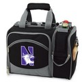 Northwestern Wildcats Malibu Picnic Pack - Black