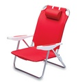 Ole Miss Rebels Monaco Beach Chair - Red