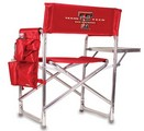 Texas Tech Red Raiders Sports Chair - Red Embroidered