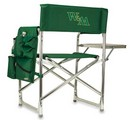 William & Mary Tribe Sports Chair - Hunter Green Embroidered