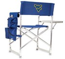 West Virginia Mountaineers Sports Chair - Navy