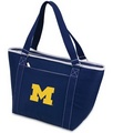 Michigan Wolverines Topanga Cooler Tote - Navy Embroidered