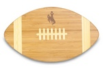 Wyoming Cowboys Football Touchdown Cutting Board