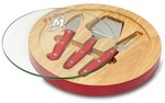 Maryland Terrapins Ventana Cheese Board - Red