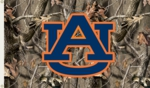 Auburn Tigers 3' x 5' Flag with Grommets - Realtree Camo