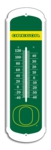 "Oregon Ducks 12"" Outdoor Thermometer"