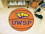 University of Wisconsin-Stevens Point Pointers Basketball Rug