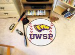 University of Wisconsin-Stevens Point Pointers Baseball Rug