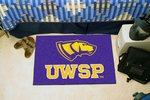 University of Wisconsin-Stevens Point Pointers Starter Rug