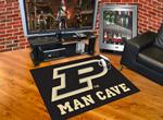 Purdue University Boilermakers All-Star Man Cave Rug