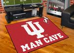 Indiana University Hoosiers All-Star Man Cave Rug