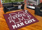 Mississippi State University Bulldogs All-Star Man Cave Rug