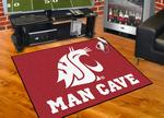 Washington State University Cougars All-Star Man Cave Rug