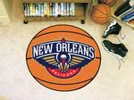 New Orleans Pelicans Basketball Rug
